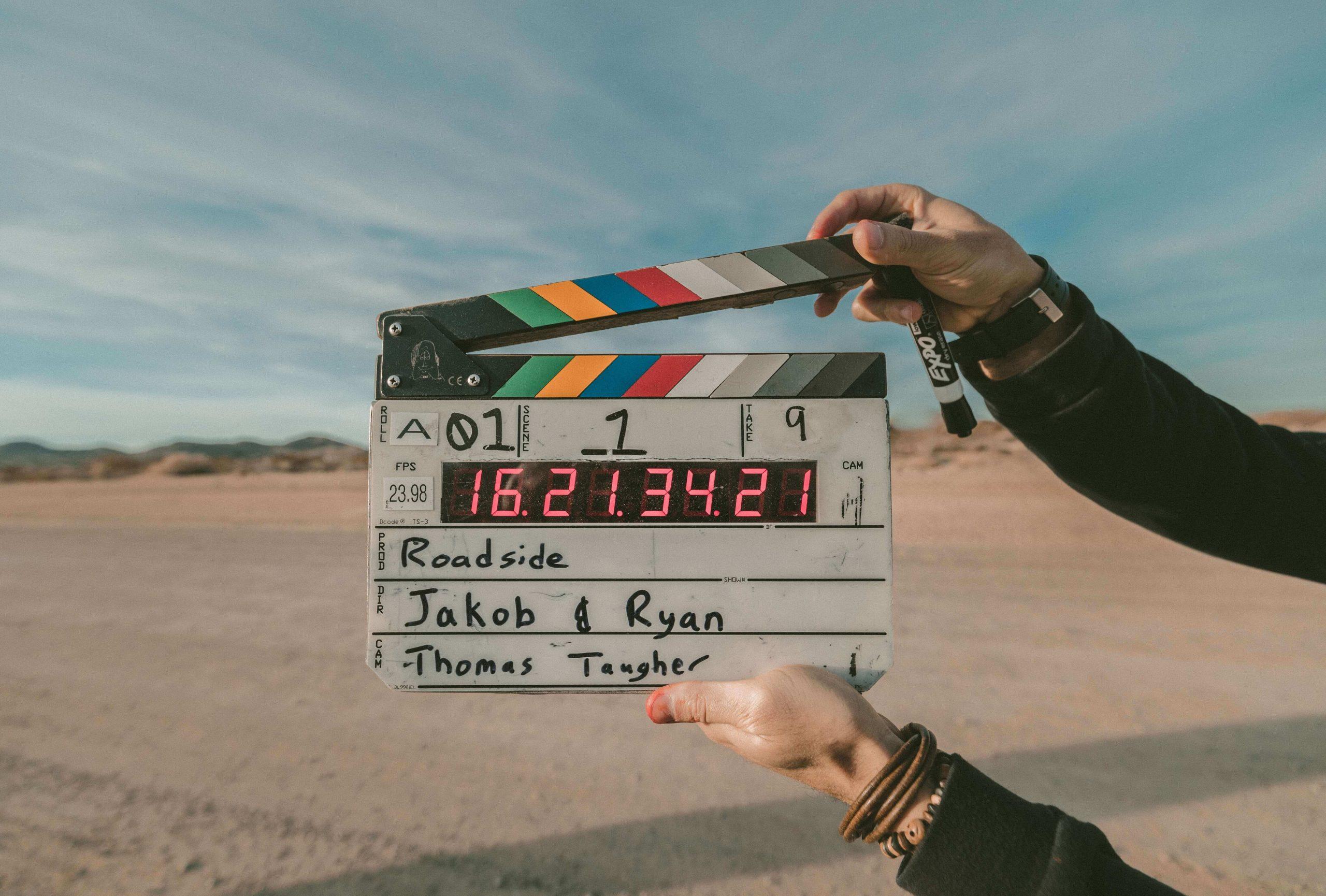 De filmploeg en het proces bij een videoproductie